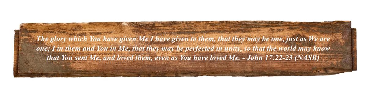 John 17:22-23 (NASB)